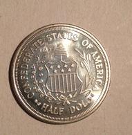 TOKEN JETON GETTONE U.S.A. HALF DOLAR 1861 - Monetari/ Di Necessità