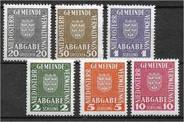 4172: Niederösterreichische Gemeindeverwaltung 1926- 1926 ** Lt. Scan - 1918-1945 1st Republic