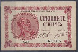 CHAMBRE De COMMERCE De PARIS - C60 066,185 - Très Bon état - Chambre De Commerce