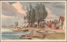 Reedham Quay, River Yare, Norfolk, C.1950s - Jarrold Postcard - England
