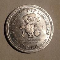TOKEN JETON GETTONE CANADA 1975 SOUVENIR OF EDMONTON KLONDIKE DAYS - Monetari/ Di Necessità
