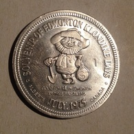 TOKEN JETON GETTONE CANADA 1975 SOUVENIR OF EDMONTON KLONDIKE DAYS - Monedas/ De Necesidad
