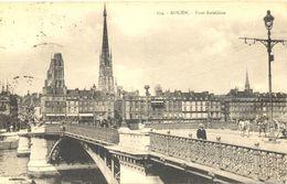 France - Seine Maritime - Rouen - Pont Boïeldieu - La Cigogne Nº 254 - Ecrite, Timbrée - 4903 - Rouen