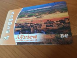 Summer Of Africa   - Animals Of Afrika   5 €   - Little Printed   -   Used Condition - Deutschland