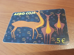 Afro Com Animals    5 €   - Little Printed   -   Used Condition - Deutschland