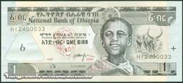 TWN - ETHIOPIA 46d - 1 Birr 2006 Prefix HI UNC - Etiopia