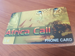 Africa Call - Jaguar -    5 €   - Little Printed   -   Used Condition - Deutschland
