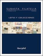 54 Edifil 841/44As(10) **. Serie Completa, Seis Valores, En Bloque De Diez (un Sello Del 15 Cts Verde Con Pie De Imprent - Spain