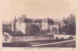 CPA - 1. REUILLY (indre) - Château De La Ferté, Vu à Vol D'oiseau - Frankreich