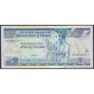 TWN - ETHIOPIA 47d - 5 Birr 2006 Prefix AR UNC - Ethiopie