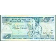 TWN - ETHIOPIA 47f - 5 Birr 2013 Prefix BL UNC - Etiopia