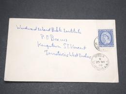 SAINT VINCENT  - Enveloppe De Bequia En 1959 - L 13874 - St.Vincent (...-1979)