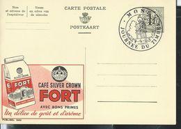 Publibel Obl. N° 1263  ( Café Silver Crown: FORT)  Obl. Journée Du Timbre  07/04/63  MONS - Publibels