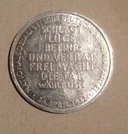 TOKEN JETON GETTONE DEUTSCHE ARBEITERPARTEI FESTA LAVORATORI 1932 - Monétaires/De Nécessité