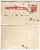 PERU 1905 ENTERO POSTAL 1905 PRIVADO MARIANO L DIAZ - Peru