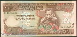 TWN - ETHIOPIA 48d - 10 Birr 2006 Prefix DK UNC - Etiopia