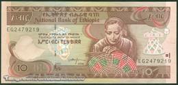 TWN - ETHIOPIA 48e - 10 Birr 2008 Prefix EG UNC - Ethiopie
