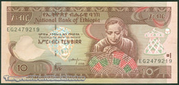 TWN - ETHIOPIA 48e - 10 Birr 2008 Prefix EG UNC - Etiopia