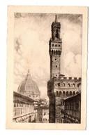 ITALIE . FIRENZE . PALAZZO VECCHIO E CUPOLA DEL DUOMO . FLORENCE - Réf. N°7349 - - Firenze (Florence)