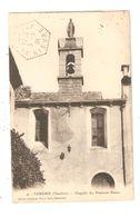 CPA 84 CAROUB Chapelle Pénitents Blancs Tampon Hexagonal  58 Garchizy 1924 - Frankrijk