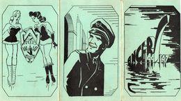 Plaquette Triptique 144 à 147 Des Arts Et Métiers D'Angers, Liste Des Promos Par Ordre Alphabétique (gm1.1) - Diplômes & Bulletins Scolaires