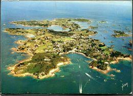CPSM - ILE DE BREHAT - Vue Qaérienne De L'Ile - Ile De Bréhat