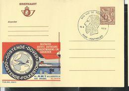 Publibel Obl. N° 2694  ( Oostende - Dover)  Obl. Houthalen 15/04/1978 - Publibels