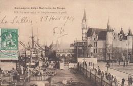 ANTWERPEN / COMPAGNIE BELGE MARITIME DU CONGO / SS ALBERTVILLE  1914 - Antwerpen