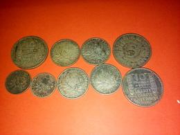 9 ARGENT 10 FRANCS TURIN  1934 /33   Et Autres TB à Nettoyer - K. 10 Francs