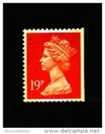 GREAT BRITAIN - 1988  MACHIN   19p.  2B  PERF. 14 IMPERF RIGHT  MINT NH  SG X1052 - Machins