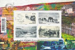 Saint-Pierre-et-Miquelon 2015  - Bloc Attelages Divers Mnh - St.Pierre & Miquelon