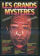 *Les Grands Mysteres* Impreso Triptíco. Nueva. - Religión & Creencias
