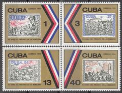 CUBA 1974, 15th ANNIVERSARY Of The REVOLUTION, COMPLETE MNH SET, GOOD QUALITY, *** - Nuovi