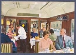 DB - Bequem Im Speisewagen Der Deutschen Bundesbahn In Den 60er Jahren - Ungelaufen - Eisenbahnen