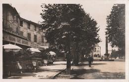 CPSM  84 APT PLACE BOUQUERIE GRAND CAFE GREGOIRE - Apt