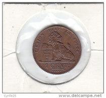 1 CENTIME Cuivre Albert I 1912 FR   FDC - 01. 1 Centesimo