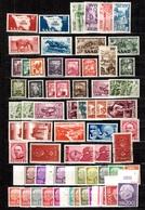 Sarre Belle Collection 1948/1960. Nombreuses Bonnes Valeurs. B/TB. A Saisir! - 1947-56 Allierte Besetzung