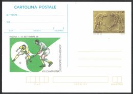 B98   Italy 1999 Postal Stationery VII European Hockey Championship - Hockey (su Erba)