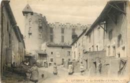 La Grand'Rue Et Le Château - Liverdun