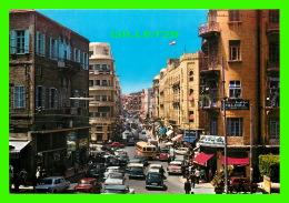 BEYROUTH, LIBAN - RUE WEYGAND - ANIMÉE DE VOITURES - TELKO SPORT - - Liban