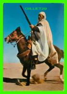 CHEVAUX - HORSES - ALGÉRIE, UN CAVALIER SAHARIEN -  JEFAL - - Chevaux