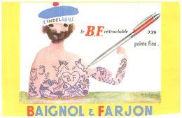 Pa B&F/ Buvard Papeterie Baignol & Farjon (N= 2) - Stationeries (flat Articles)