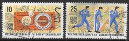 DDR 1970 / MiNr.   1605 - 1605  ,  1605 Leichte Blauverfärbung  O / Used   (q887) - [6] République Démocratique