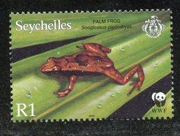 Seychelles 2003 1r  Palm Frog Issue #832  MNH - Seychelles (1976-...)