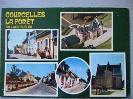 COURCELLES LA FORET / CARTE PHOTO MULTIVUES / 1988 - France