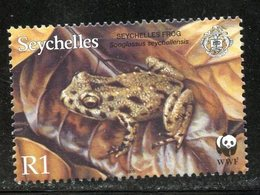 Seychelles 2003 1r  Seychelles Frog Issue #831  MNH - Seychelles (1976-...)