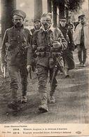 1914 BLESSES ANGLAIS A LA DEFENSE D'ANVERS - Weltkrieg 1914-18