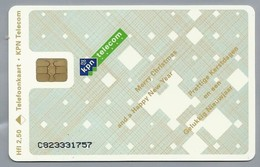 NL.- Telefoonkaart. KPN TELECOM. 2,50 Gulden. Mary Christmas And Happy New Year. Altijd Dichtbij. C823 - Kerstmis