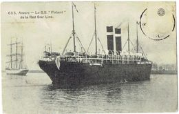 655 - ANVERS - Le S.S.Finland De La Red Star Line - Antwerpen
