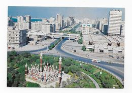 CPM Abu Dhabi An Aerial View Of Sheikh Khalifa Street UAE (N°1) - Emirats Arabes Unis